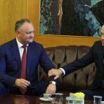 Додон поздравил Эрдогана с победой на досрочных выборах президента Турции