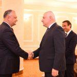 На встрече с делегацией Парламентской Ассамблеи ОБСЕ Додон обсудил внутриполитическую ситуацию в Молдове