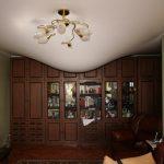 """Водяная """"бомба"""" образовалась на потолке жительницы дома на Буюканах после дождя (ФОТО)"""