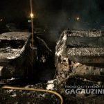 Огненный ад в Вулканештах: пострадали сразу 8 машин (ФОТО)