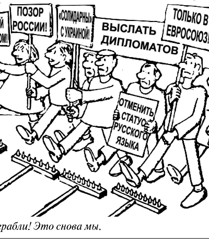 Антироссийские демарши ДПМ