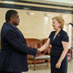 В Кишинев прибыл Генеральный секретарь Межпарламентского Союза