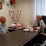 Зинаида Гречаный провела традиционный прием граждан по их личным вопросам