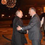 Путин поздравил Додона и весь молдавский народ с наступающим Новым годом и Рождеством Христовым
