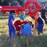 Экипаж SMURD доставил из Молдовы в Бухарест мужчину, потерявшего ногу (ФОТО)