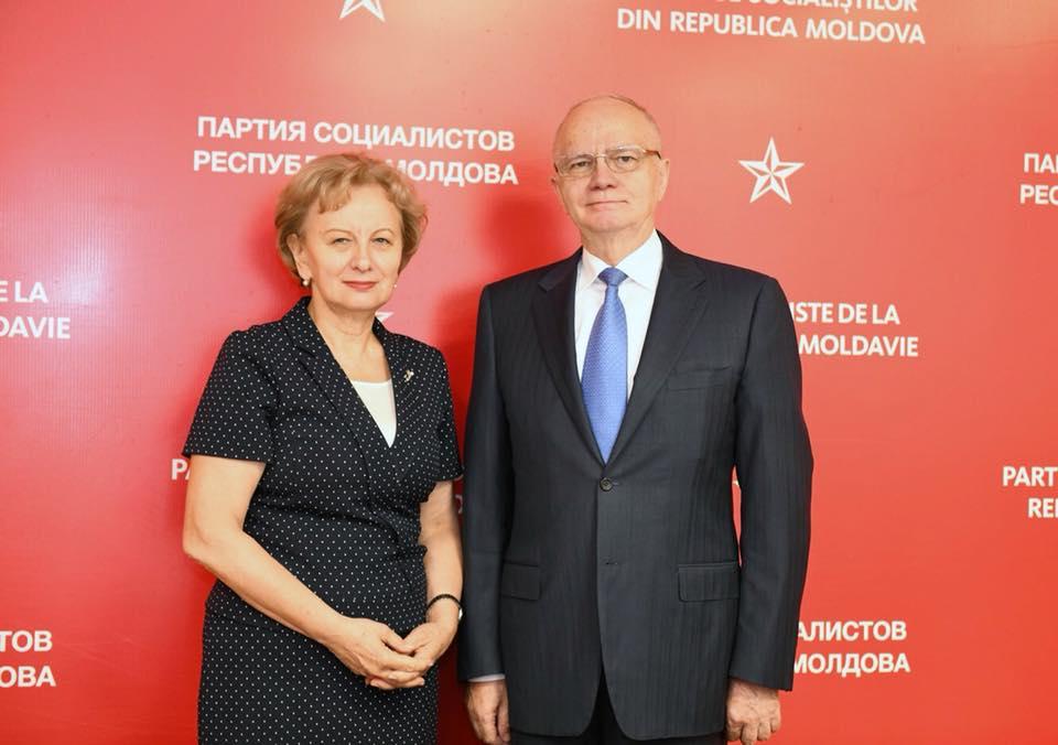 Зинаида Гречаный и посол России обсудили состояние молдо-российских отношений
