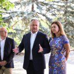 Додон собрал на неформальную встречу послов разных стран, аккредитованных в Молдове (ФОТО)