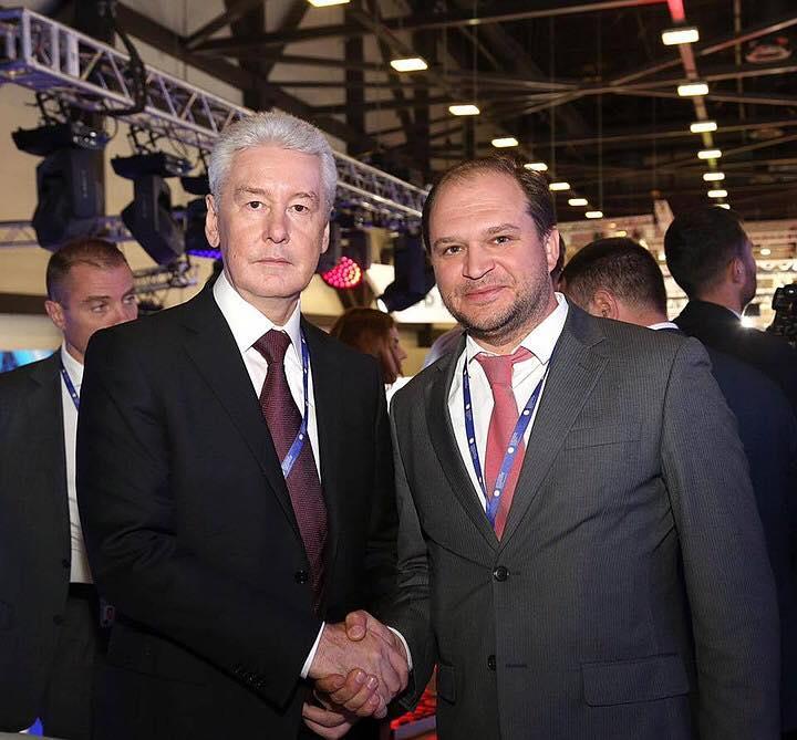 Чебан поздравил Собянина с переизбранием на пост мэра Москвы