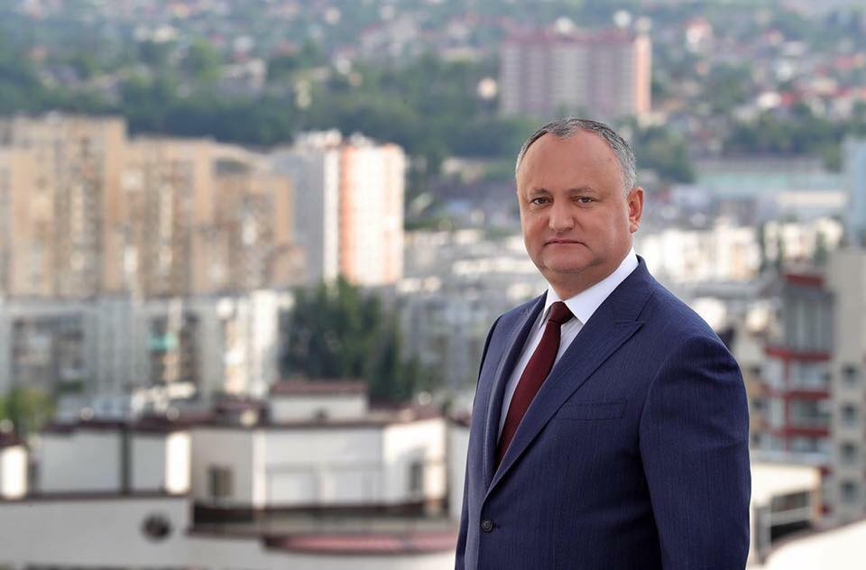 Igor Dodon called on citizens to unite forces to protect the state