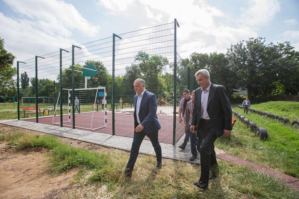 Строительство спортивных комплексов по инициативе президента идет полным ходом (ФОТО)