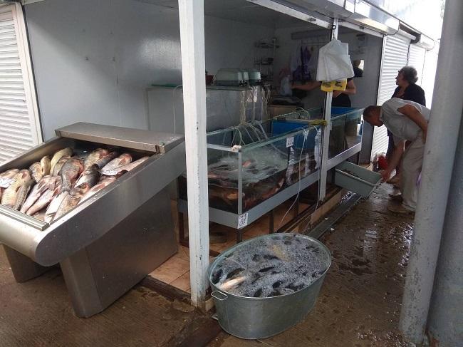 Около 9 тысяч леев штрафа заплатили коммерсанты за незаконную продажу рыбы (ФОТО)