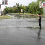 Полиция нашла потерянные во время дождя номерные знаки (ФОТО)