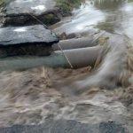 Последствия дождя в Каушанах: мощный поток воды затопил местный магазин и снёс с полок товар (ВИДЕО)