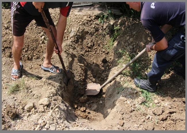 Чудовищное убийство в Криулянах: мужчина забил до смерти и закопал тело бывшей сожительницы у себя во дворе (ФОТО)