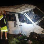 Микроавтобус с 8 молдаванами, включая 3 детей, перевернулся в Чехии (ФОТО, ВИДЕО)