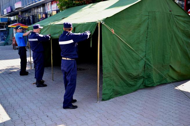 В разгар жары во всех секторах Кишинева, а также в Бельцах, Кагуле и Комрате установят специальные палатки