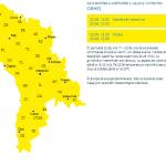 Молдову накроют мощные дожди с градом: объявлен желтый код
