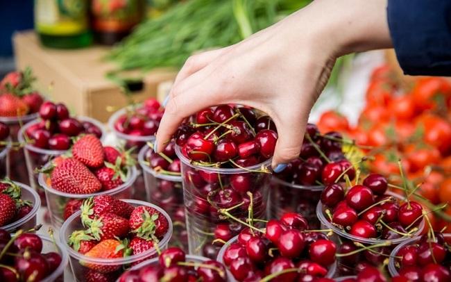 Молдова активно экспортирует клубнику, вишню, черешню и малину на рынки России