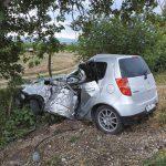 В пригороде Кишинева машина влетела в дерево: водитель скончался на месте (ФОТО)