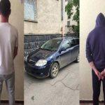 В Кишинёве три товарища угнали из гаража автомобиль и прихватили музыкальные инструменты (ВИДЕО)