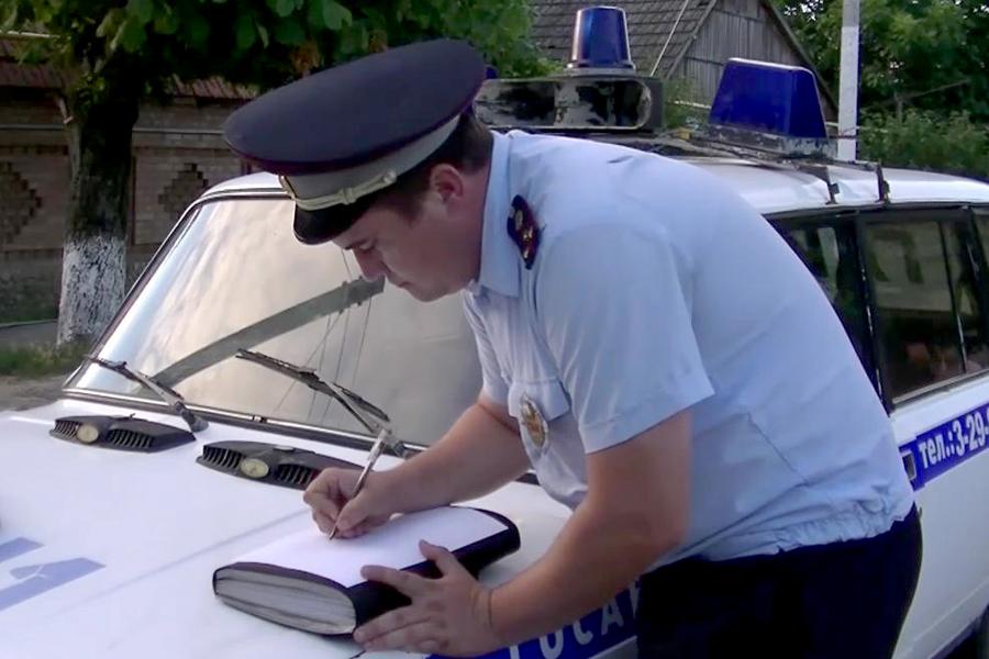 """""""Шумахер"""" в Приднестровье тщетно попытался дать взятку гаишнику"""