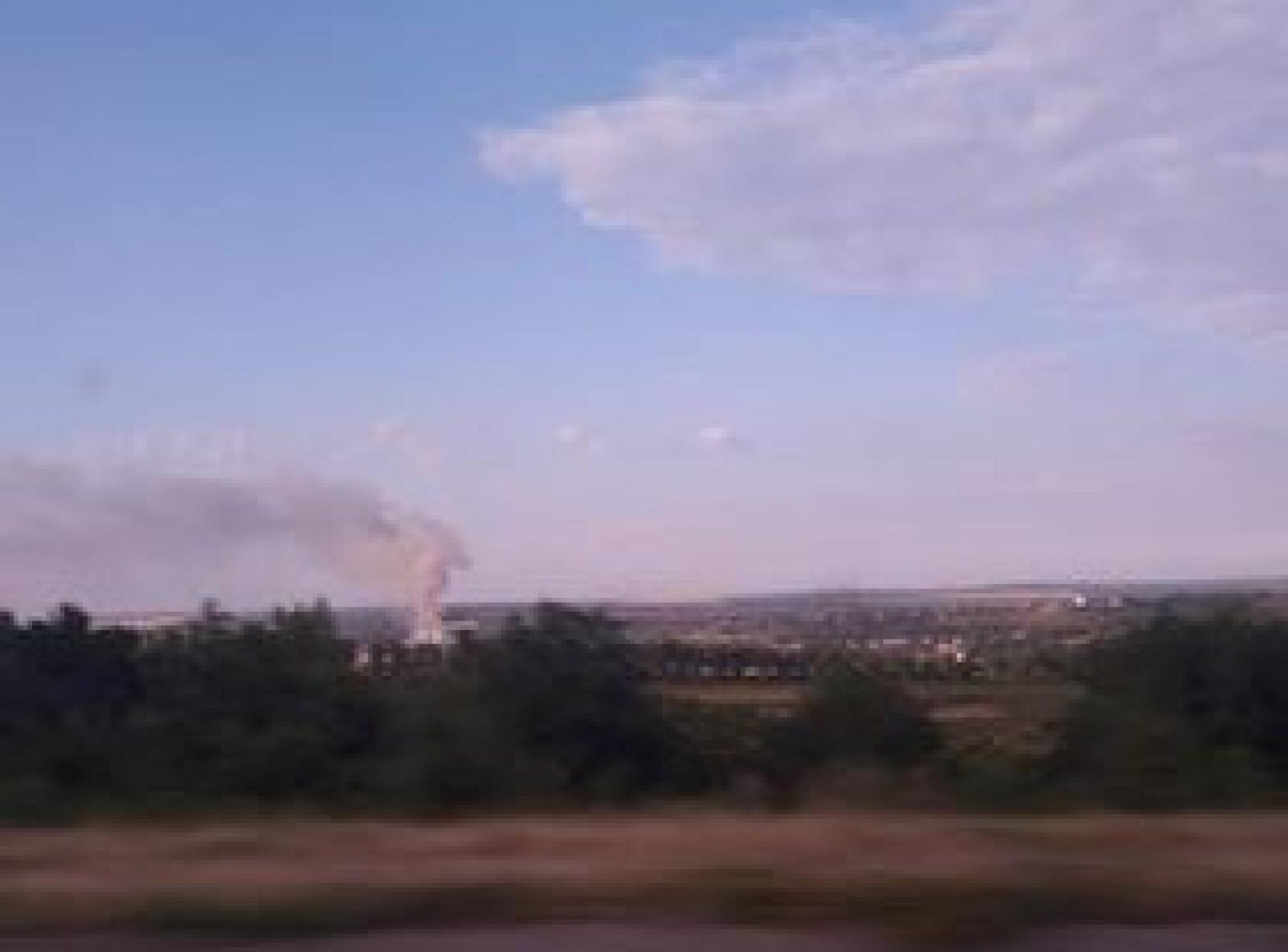 Серьезный пожар в Порумбенах: горит свалка (ВИДЕО)