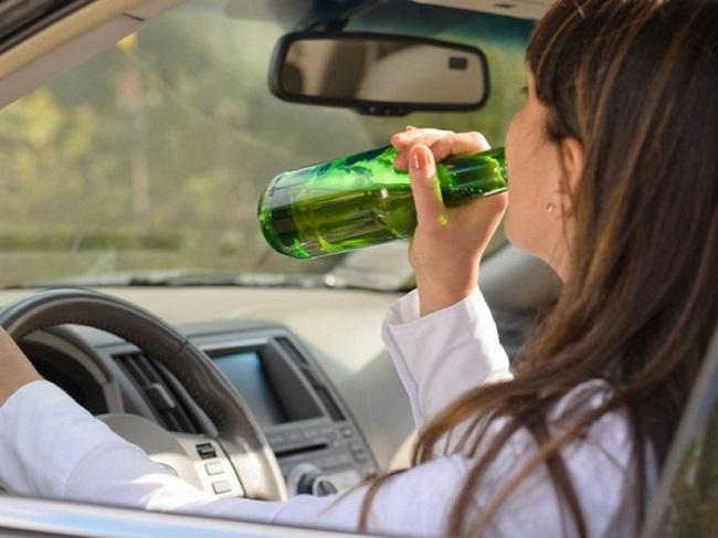 В Приднестровье пьяная автоледи села за руль автомобиля