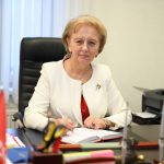 Гречаный выступила с приветственным обращением к Эрдогану и участникам съезда правящей в Турции партии