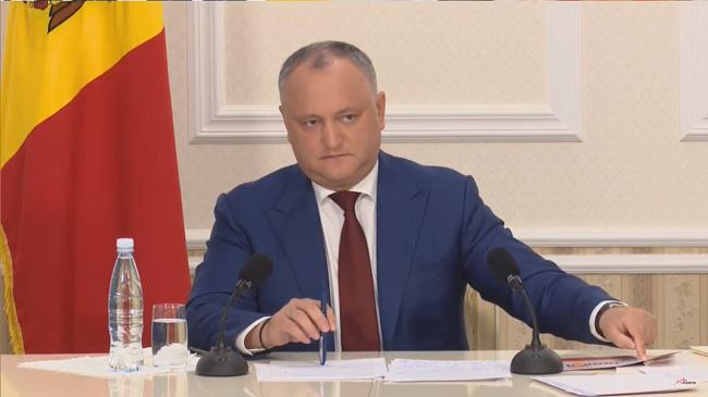 Додон: Мы откроем 150-180 избирательных участков в России после того, как придем к власти (ВИДЕО)