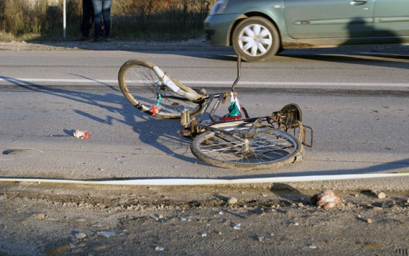 В Бричанах велосипедист был насмерть сбит автомобилем