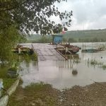 Два КПП паромного типа не работают из-за повышения уровня воды в Днестре