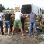 Интернациональная группировка промышляла контрабандой табака в больших количествах (ВИДЕО)