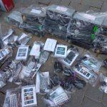 Три попытки ввоза контрабанды были предотвращены на границе (ФОТО)