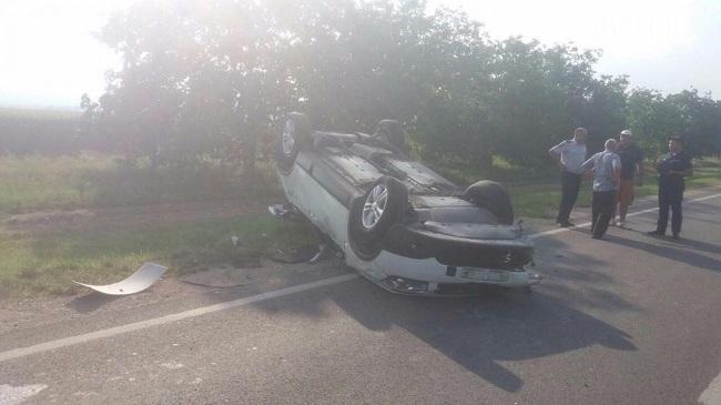 Серьёзная авария на трассе Кодрул Ноу – Сороки: три человека при смерти (ФОТО)