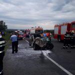 Серьёзная авария в Яссах: в результате столкновения с молдавским автобусом погиб румынский политик (ФОТО, ВИДЕО)