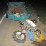 В Гагаузии в результате ДТП серьёзно пострадал водитель мотоблока
