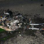 В жуткой аварии в Приднестровье погиб мотоциклист (ФОТО)
