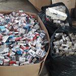 Молдаванин «нашпиговал» свой автомобиль 70 тысячами сигарет (ФОТО)