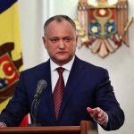 Игорь Додон представит отчёт о своей деятельности в качестве президента за 18 месяцев