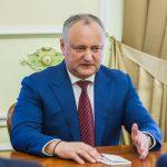 Игорь Додон и администрация президента остаются безоговорочными лидерами доверия граждан (ФОТО)