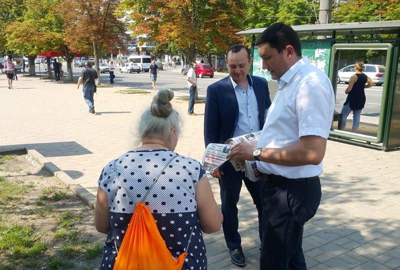 Гречаный: Социалисты продолжают работу на благо кишиневцев, несмотря на отмену результатов выборов (ФОТО)