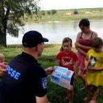 Спасатели провели очередной инструктаж в рамках кампании по спасению утопающих (ФОТО)
