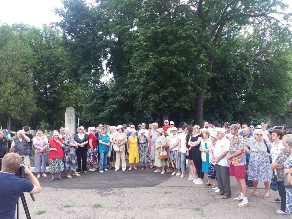 Сороки – за русский язык и многонациональную Молдову! (ФОТО)
