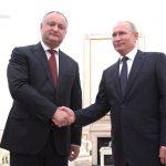 Додон и Путин встретятся сегодня в Москве