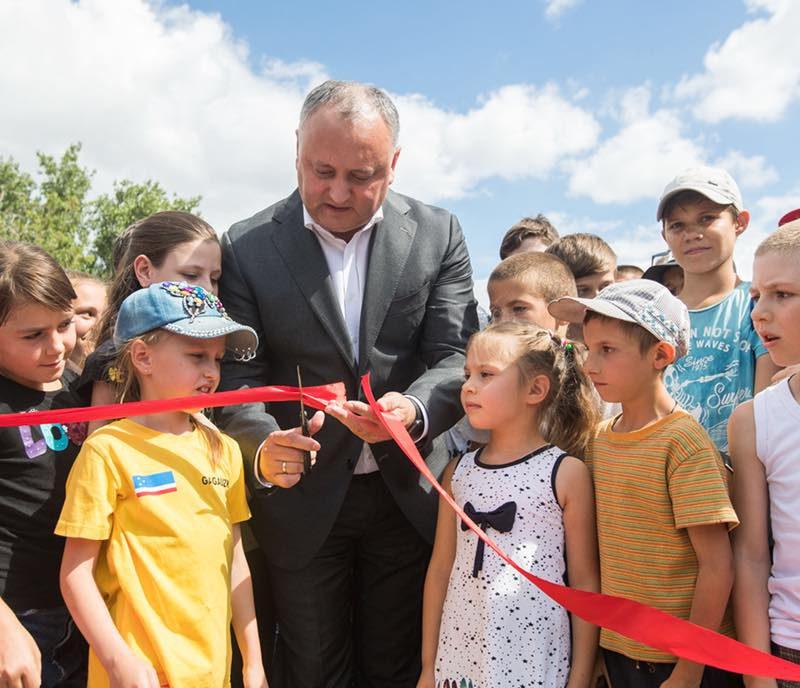 Президент открыл еще два спортивных комплекса, построенных по его инициативе (ФОТО)