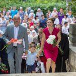 Додон вместе с семьей принял участие в фестивале в память о Штефане чел Маре (ВИДЕО, ФОТО)