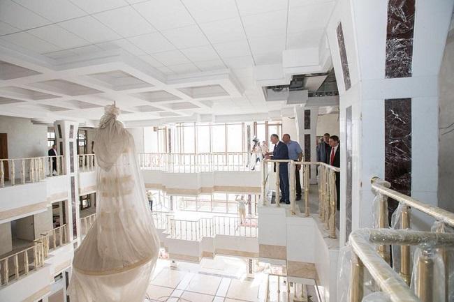 Ремонт здания президентуры находится на завершающей стадии (ФОТО)