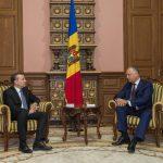 Додон выступил за углубление торгово-экономического сотрудничества Молдовы и Литвы