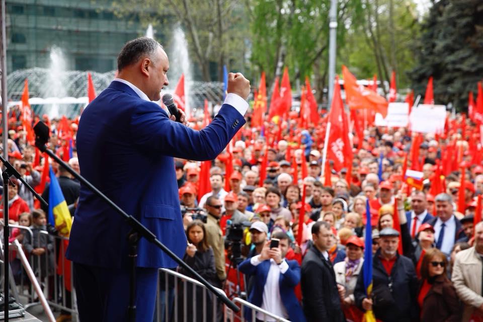 Додон: Как демократы проиграли коммунистам 25 февраля 2001 года, так проиграют и социалистам 24 февраля 2019 года