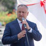 Додон: Дружба и братство Молдовы и России – это на века! (ФОТО)